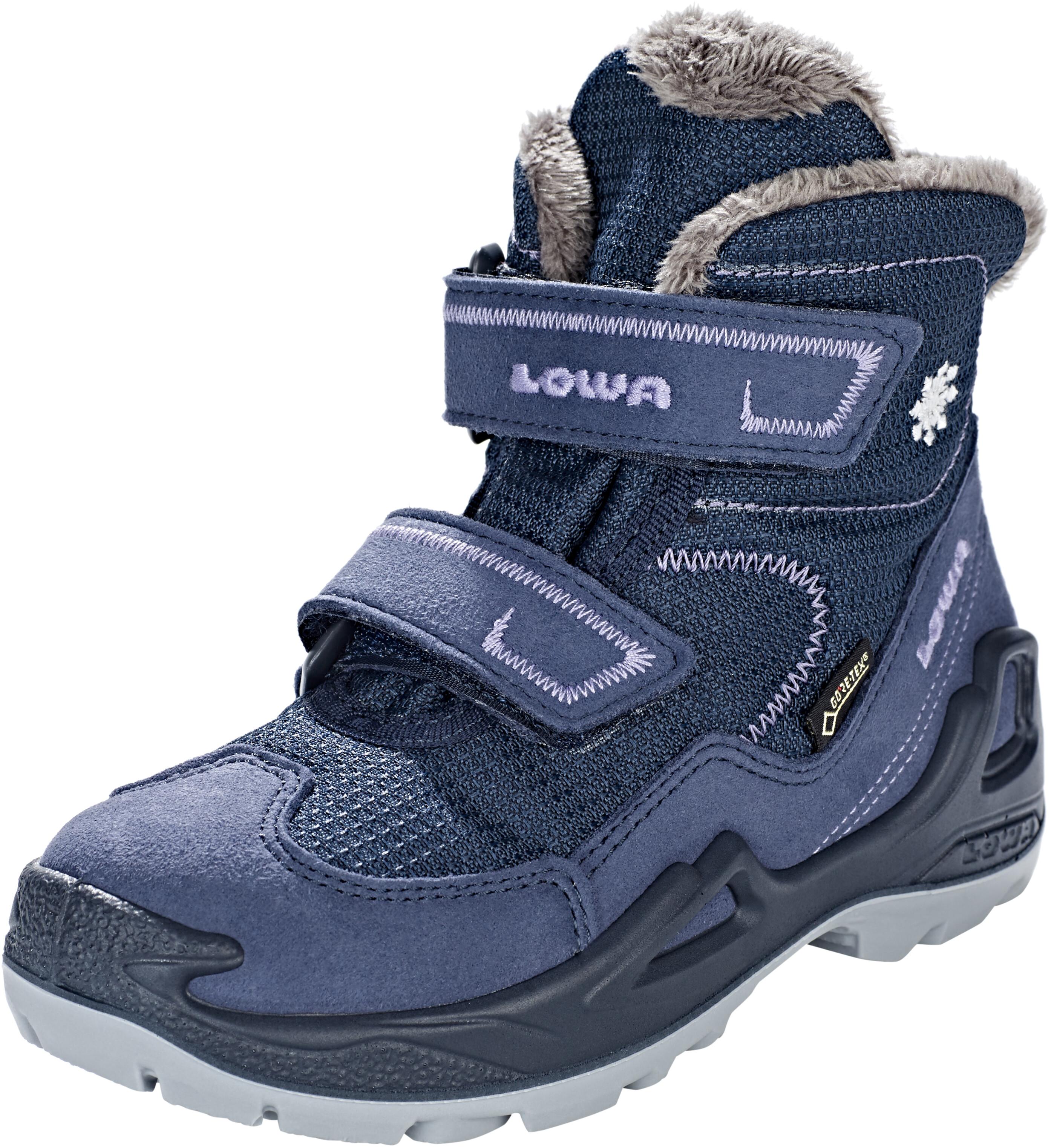 21ea4868 Lowa Milo GTX Støvler Børn blå   Find outdoortøj, sko & udstyr på ...